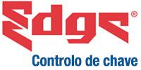 Logótipo e chaves do sistema de controlo de chave Edge®